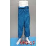 VP6-17 กางเกงชาวเลขายาว สีพื้น ( ฟรีไซร์ ) - จำนวนสั่งซื้อ 100 ตัวขึ้นไป @ ราคาตัวละ 80 บาท