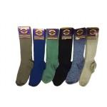 ถุงเท้าแฟชั่น ถุงเท้ายาว ผ้าคละลาย คละสี ขนาดได้มาตรฐาน