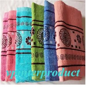SP93 - ผ้าขนหนูพิมพ์ลาย ผ้าชำร่วย ของขวัญ ผ้าเช็ดตัว ผ้าอาบน้ำ