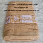 ผ้าขนหนูพิมพ์ลาย ผ้าชำร่วย ของขวัญ ผ้าเช็ดตัว ผ้าอาบน้ำ