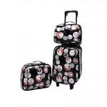 กระเป๋าเดินทางยี่ห้อ Pomar Polo ลิขสิทธิ์แท้เซ็ตคู่แม่ลูก รุ่น เซ็ต 3 ชิ้น  ราคาพิเศษ1,740.- ลดจากปกติ 2,160.-)