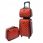 กระเป๋าเดินทางยี่ห้อ Pomar Polo ลิขสิทธิ์แท้เซ็ตคู่แม่ลูก รุ่น เซ็ต 3 ชิ้น  ราคาพิเศษ1,740.- ลดจากปกติ 2,160.-