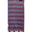 ผ้าห่มโบตั๋น ผ้าห่มลายสก๊อตแดง ขนาด 150x190 ซม